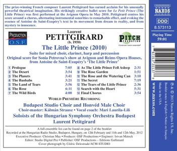 Il piccolo principe - CD Audio di Laurent Petitgirard - 2