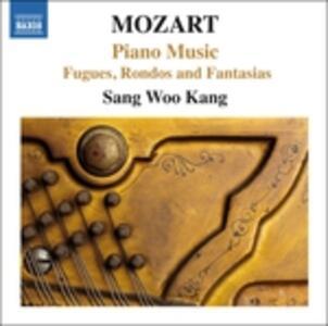 Fughe, rondò e fantasie per pianoforte - CD Audio di Wolfgang Amadeus Mozart