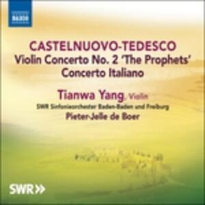 Concerto Italiano - CD Audio di Mario Castelnuovo-Tedesco