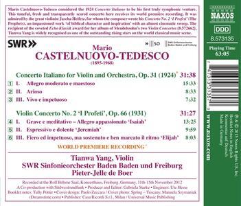 Concerto Italiano - CD Audio di Mario Castelnuovo-Tedesco - 2