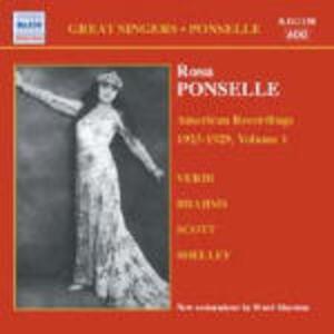 American Recordings vol.1 1923-1929 - CD Audio di Rosa Ponselle
