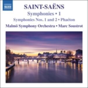 Sinfonie N.1, N.2 - CD Audio di Camille Saint-Saëns,Marc Soustrot