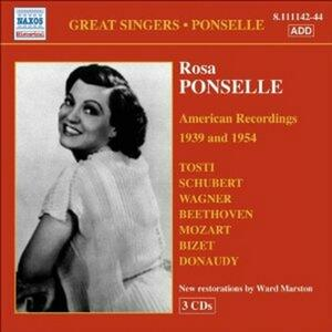 American Recordings vol.6: 1939 e 1954 - CD Audio di Rosa Ponselle