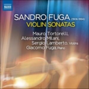 Sonate per violino e pianoforte - CD Audio di Sandro Fuga