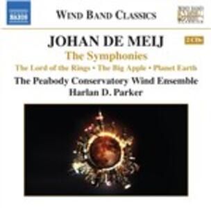 Sinfonie - CD Audio di Johan de Meij