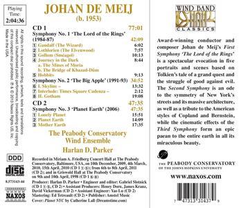 Sinfonie - CD Audio di Johan de Meij - 2