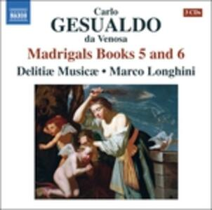 Madrigali - CD Audio di Carlo Gesualdo,Marco Longhini