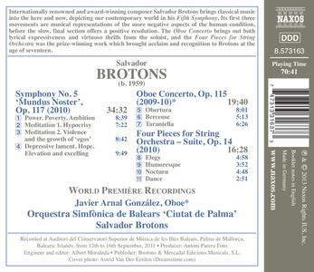 Opere orchestrali - CD Audio di Salvador Brotons - 2