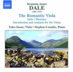 The Romantic Viola - CD Audio di Benjamin Dale