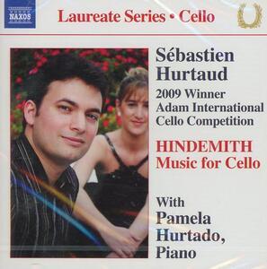 Musica per violoncelllo e pianoforte - CD Audio di Paul Hindemith