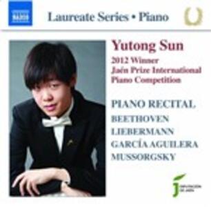 Piano Recital - CD Audio di Yutong Sun
