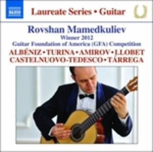 Rovshan Mamedkuliev Guitar Recital - Laureate Series - CD Audio