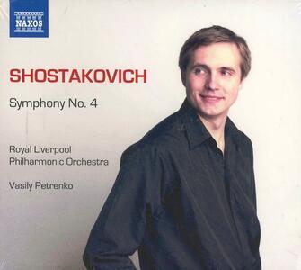 Sinfonia n.4 - CD Audio di Dmitri Shostakovich