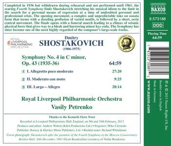 Sinfonia n.4 - CD Audio di Dmitri Shostakovich - 2