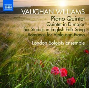 Opere cameristiche - CD Audio di Ralph Vaughan Williams