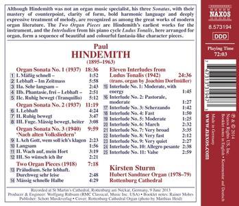 Opere per Organo - CD Audio di Paul Hindemith - 2