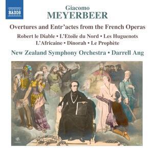 Ouvertures e entr'acte da opere - CD Audio di Giacomo Meyerbeer