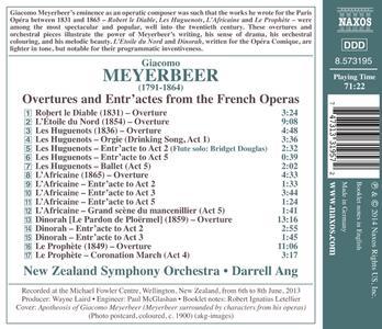 Ouvertures e entr'acte da opere - CD Audio di Giacomo Meyerbeer - 2