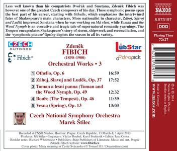 Opere orchestrali vol.3 - CD Audio di Zdenek Fibich - 2