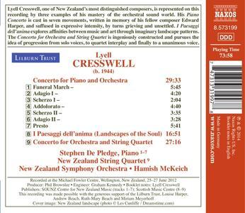 Opere orchestrali - CD Audio di Lyell Cresswell - 2