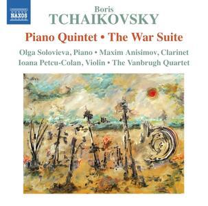 Quintetto per Archi e Pianoforte, Suite La Guerra - CD Audio di Boris Alexandrovich Tchaikovsky