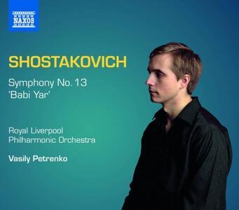 Sinfonia n.13 - CD Audio di Dmitri Shostakovich
