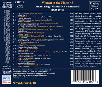 Women At The Piano Vol.5 - CD Audio - 2