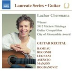Guitar Recital - CD Audio di Lazhar Cherouana