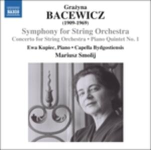 Opere orchestrali - CD Audio di Grazyna Bacewicz