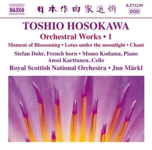 Opere orchestrali vol.1 - CD Audio di Toshio Hosokawa