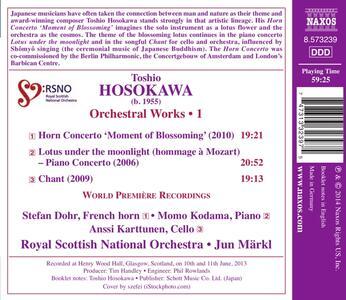 Opere orchestrali vol.1 - CD Audio di Toshio Hosokawa - 2