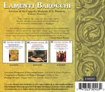Lamenti Barocchi - CD Audio