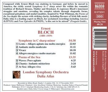 Sinfonia in Do diesis minore - Poemi del mare - CD Audio di Ernest Bloch - 2