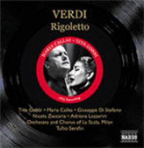Rigoletto - CD Audio di Maria Callas,Giuseppe Di Stefano,Tito Gobbi,Giuseppe Verdi,Tullio Serafin,Orchestra del Teatro alla Scala di Milano