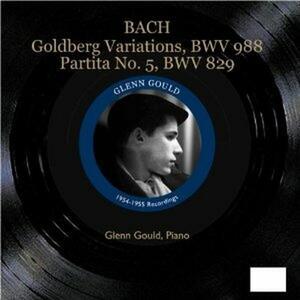 Variazioni Goldberg - Partita n.5 - CD Audio di Johann Sebastian Bach,Glenn Gould