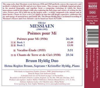 Poèmes pour Mi - Vocalise-Étude - Chants de terre et de ciel - CD Audio di Olivier Messiaen - 2