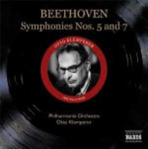 Sinfonie n.5, n.7 - CD Audio di Ludwig van Beethoven,Otto Klemperer,Philharmonia Orchestra