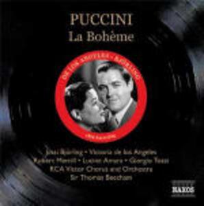 La Bohème - CD Audio di Giacomo Puccini,Jussi Björling,Victoria De Los Angeles,Sir Thomas Beecham,RCA Victor Symphony Orchestra