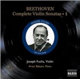 Sonate per violino n.1, n.2, n.3, n.4 - CD Audio di Ludwig van Beethoven,Artur Balsam,Joseph Fuchs