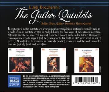 Guitar Quintets - CD Audio di Luigi Boccherini