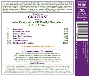 Adae Oratorium - Filli Prodigi Oratorium - Mottetti - CD Audio di Bonifazio Graziani - 2