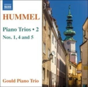 Trii per Archi e Pianoforte vol.2 - CD Audio di Johann Nepomuk Hummel,Gould Piano Trio