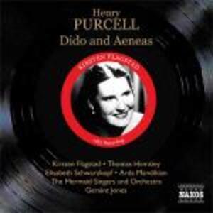 Dido and Aeneas - CD Audio di Henry Purcell,Kirsten Flagstad,Elisabeth Schwarzkopf,Thomas Hemsley,Geraint Jones