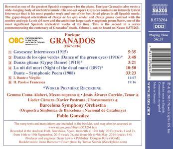 Opere orchestrali vol.2 - CD Audio di Enrique Granados - 2