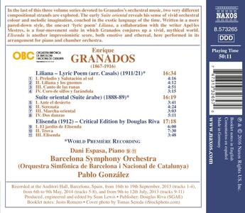 Opere per orchestra vol.3 - CD Audio di Enrique Granados - 2