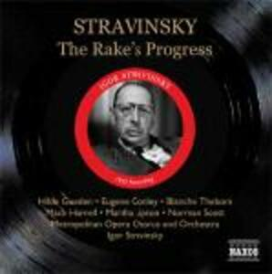 La carriera del libertino (The Rake's Progress) - CD Audio di Igor Stravinsky,Metropolitan Orchestra,Hilde Güden,Martha Lipton,Eugene Conley