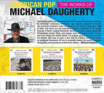 American Pop: Works Of Michael Daugherty - CD Audio di Michael Daugherty - 2