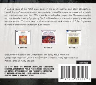 Antoni Wit Conducts.. - CD Audio di Henryk Mikolaj Gorecki - 2