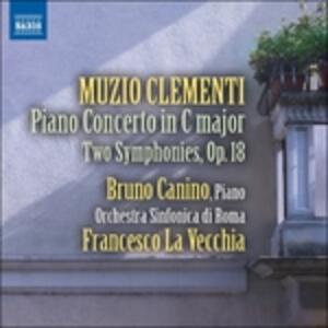 Opere Orchestrali - CD Audio di Muzio Clementi