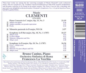 Opere Orchestrali - CD Audio di Muzio Clementi - 2